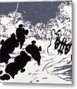 Rorschach 4 Pearls Before Swine Metal Print