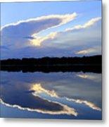 Rorschach Reflection Metal Print