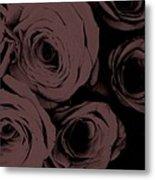 Rosa D'amore Deep Mauve Metal Print