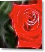 Rose-5890-fractal Metal Print