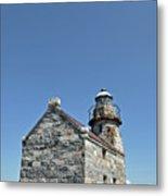 Rose Blanche Lighthouse II Metal Print