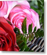 Rose Boquet Metal Print