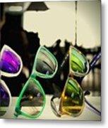 Rose Colored Glasses Metal Print