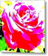 Rose Metal Print by Dana Patterson