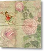 Rose Dancer Metal Print