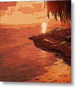 Rose From The Sea Metal Print