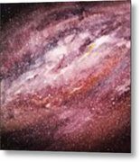 Rose Galaxy Metal Print