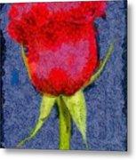 Rose - Id 16236-104956-0793 Metal Print