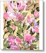 Rose Refraction Metal Print