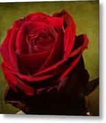 Rose Tapestry Metal Print
