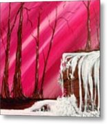 Rose Treasure Metal Print by Ginny Youngblood
