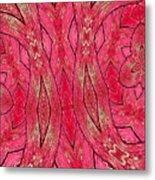 Rose Wood Metal Print