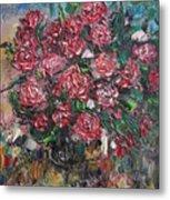 Rosebush Metal Print