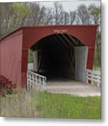 Roseman Covered Bridge - Madison County - Iowa Metal Print