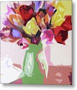 Rosemary's Tulips Metal Print