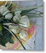 Roses And Chocolate  Metal Print