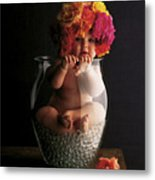 Roses Metal Print by Anne Geddes
