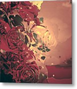 Roses Are Forever Metal Print