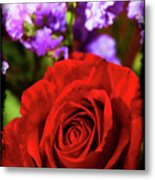 Roses Are Red II Metal Print