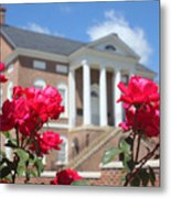 Roses At The Court House 2 Metal Print