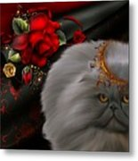 Roses For A Queen # 2 Metal Print