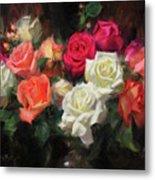 Roses For Kim Metal Print