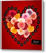 Roses For My Dear Love Metal Print