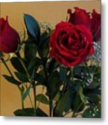 Roses For Valentines Day Metal Print