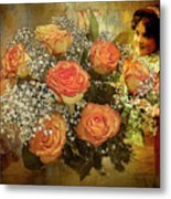 Roses From Judy Metal Print