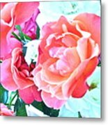 Roses Galore Metal Print