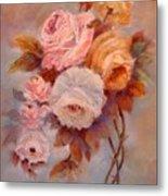 Roses Study Metal Print