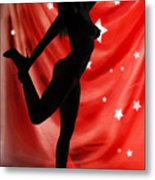 Rosie Nude Fine Art Print In Sensual Sexy Color 4690.02 Metal Print