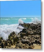 Ross Witham Beach Hutchinson Island Florida Metal Print