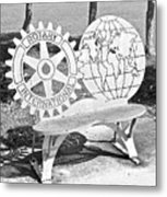 Rotary International  Metal Print