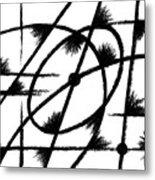 Rotation Axis Metal Print