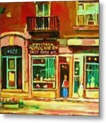 Rothchilds Jewellers On Park Avenue Metal Print