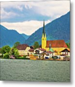 Rottach Egern On Tegernsee Architecture And Nature View Metal Print