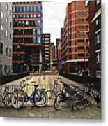 Rotterdam Architecture Metal Print