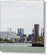 Rotterdam Skyline With Euromast  Metal Print