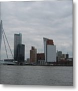 Rotterdam What A View Metal Print