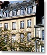 Rouen Half Timbered 22 Metal Print