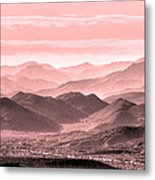 Rouge Hills Of The Tonto Metal Print