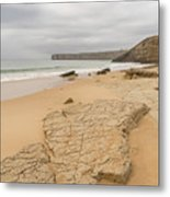 Rough But Golden At The End Of The World Metal Print