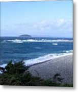 Rough Day On The Point Metal Print