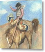 Rough Rider Metal Print
