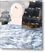 Rough Seas Metal Print by Claude McCoy
