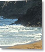 Rough Shores Metal Print