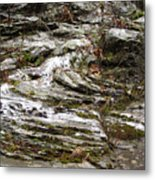 Rough Timeworn Rhythm Along The Kaaterskill Creek Metal Print