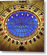 Round And Glossy Metal Print