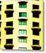 Round Balconies Metal Print